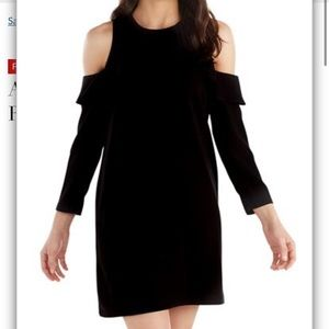 NWT Mudpie Cold Shoulder Ruffle Dress